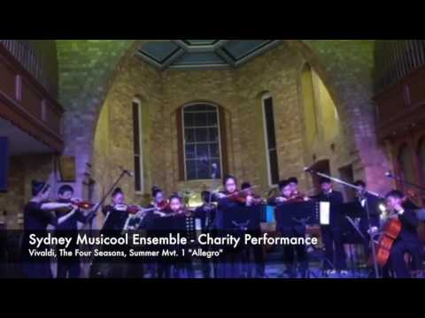 Sydney Musicool Ensemble Performs Vivaldi's Summer for Charity