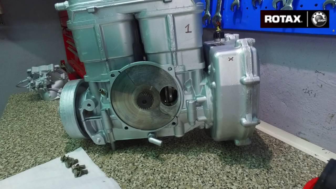 instalación de válvula rotativa de motor rotax sea doo 720