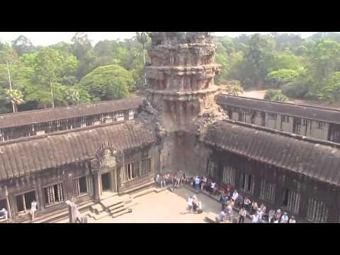 Ангкор-Ват - достопримечательность Камбоджа