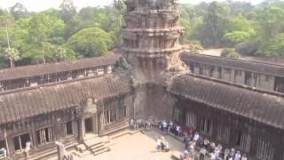 Ангкор-Ват - достопримечательность Камбоджа(Моя экскурсия в Камбоджа 08-09.03.2014 года. Смотрите мои фотографии Ангкорвоат на сайте http://tutrest.ru/asia/63-angkor-vat.html..., 2014-03-13T16:20:04.000Z)
