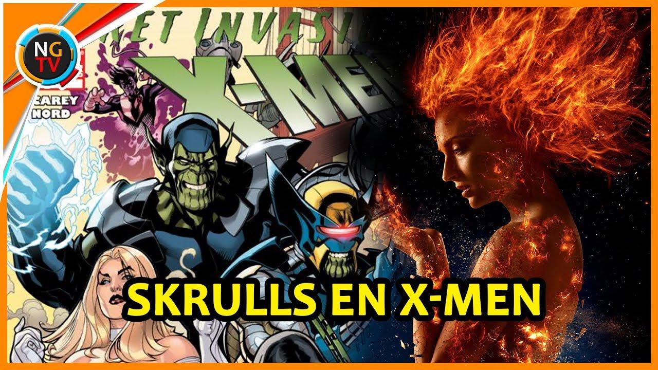 Dark Phoenix Presentará A Los Skrulls Antes De Que El