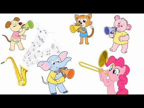 Learn Musical Instruments and Sounds | English Vocabluary for Kids and Children