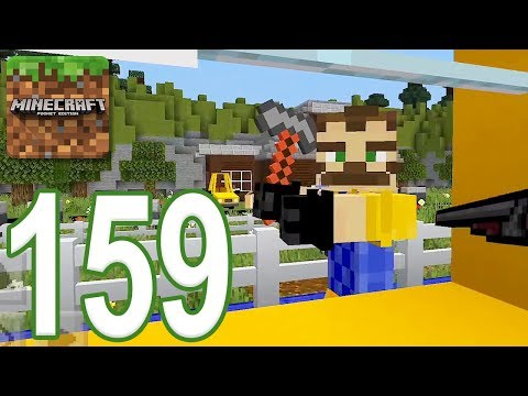 Minecraft: PE - Gameplay Walkthrough Part 159 - Hello Neighbor Updated (iOS, Android)