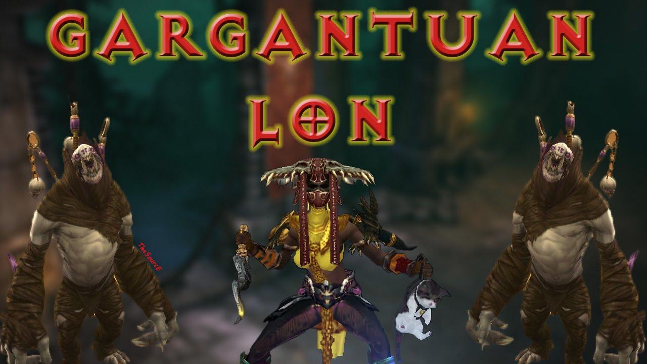 Diablo  Witch Doctor Gargantuan Build