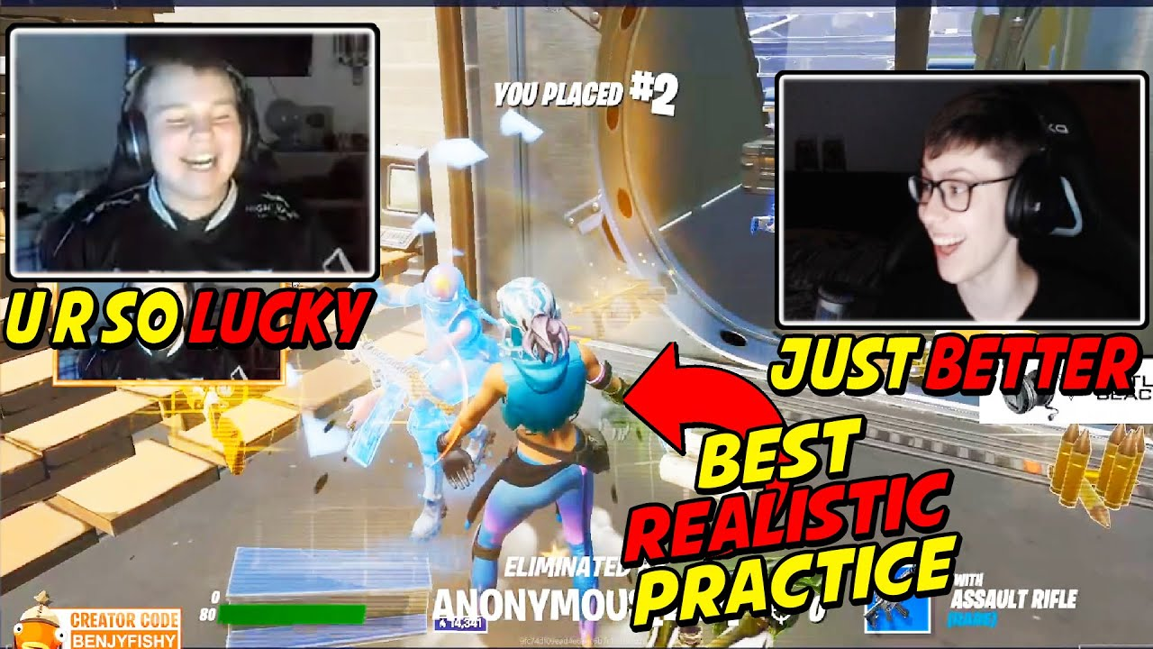 Benjyfishy Shows The Best Way To Practice & Get Better At Fighting In Your Landing Spot