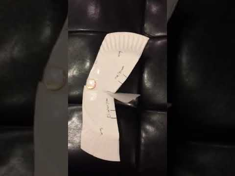 Paper Plate Airplane Tech1010 & Paper Plate Airplane Tech1010 - YouTube