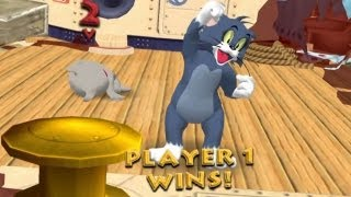Tom & Jerry: War of the Whiskers - Gamecube Walkthrough HD 720P Part 1 - Tom (Dolphin 4)