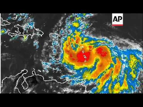 Residents of Virgin Islands preparing for Tropical Stom Issac