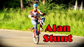 Alan Stunt - Wheeling Bike PB