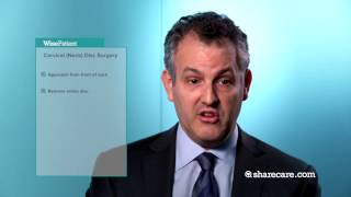 Dr. Andrew Hecht on Lumbar Disc and Neck Disc Surgery