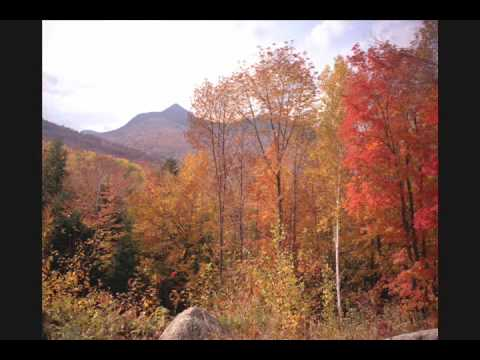 New Hampshire in Autumn: images and music