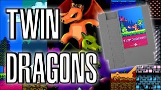 Twin Dragons HOMEBREW for NES | Review & Unboxing | Successfully Kickstarted Game | Rewind Mike