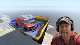 BeamNG.drive - Building Cars Falls Crashes - BEST MOMENTS #2