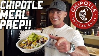 Homemade Chipotle Mexican Grill Style Meal Prep | Step By Step Guide