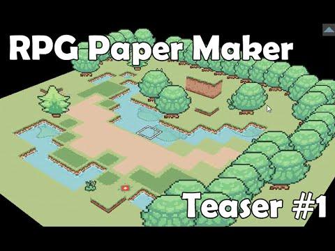 RPG Paper Maker : Teaser #1