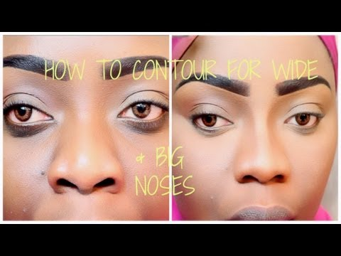 [DETAILED] How To Contour For A Wider Bigger Nose | Tree of Life Techniques & Pitfalls