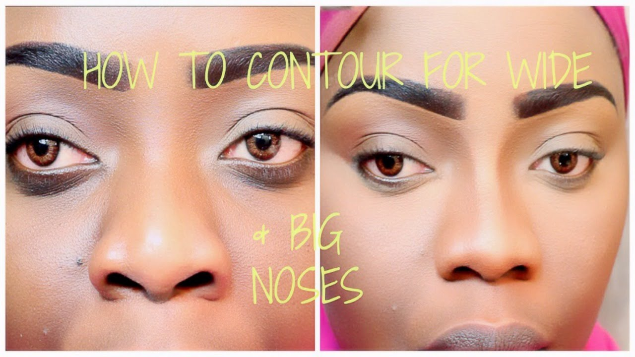 [detailed] How To Contour For A Wider Bigger Nose Tree Of Life Techniques &