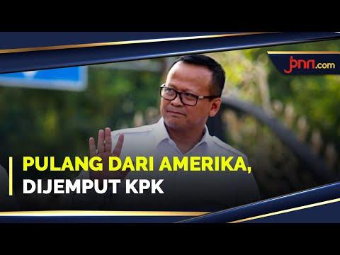 Tiba dari Mancanegara, Menteri Edhy Prabowo Langsung Ditangkap KPK