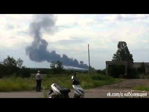 Malaysia plane crashes on Ukraine-Russia border: smoke rises from scene of crash