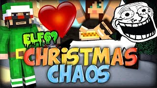Captain Sparklez is LVL 69 ELF and I'm ASHLEY's KNIGHT!! - Minecraft Christmas Chaos w/ Friends