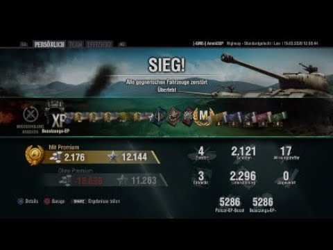 LEO / World Of Tanks / PS4 / Ace Tanker