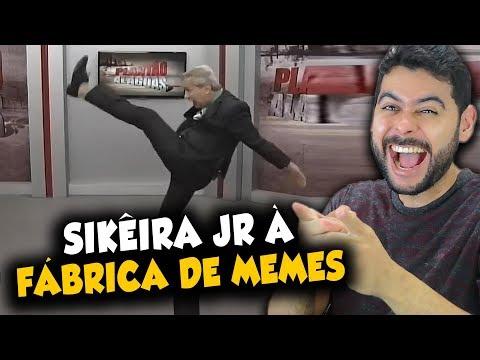 Sikêira Jr. é uma fábrica de MEMES
