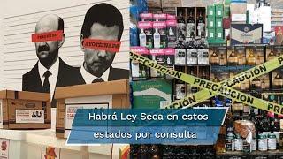 Estados como Veracruz, Puebla y ciudades como León y Celaya, en Guanajuato, son algunas de las que ya impusieron medidas para restringir la venta de bebidas alcohólicas