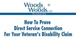 How to Prove Direct Service Connection in VA Compensation Cases