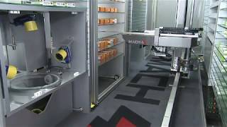 Omnicell Pharmacy Robotic Dispensing System - Medimat