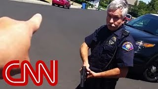 Cop confrontation goes viral