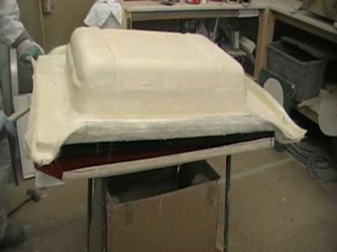Making A Fibreglass Mould Youtube