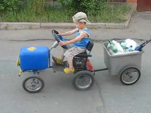 Детская машина с педалями своими руками