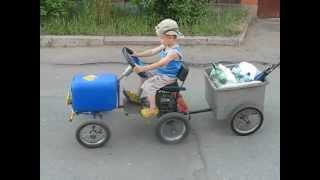 видео: самодельная машина для детей