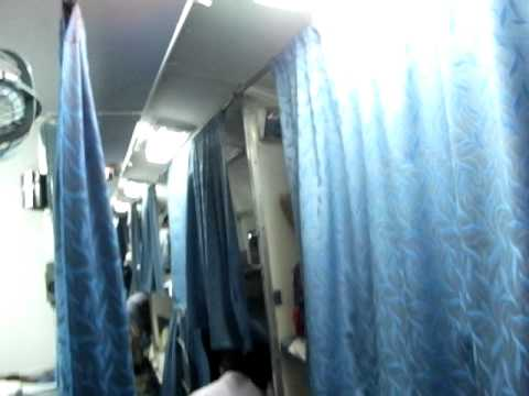 Sleeper of the train from Kolkata to New Jalpaiguri