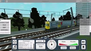 Roblox terminal railways | Updated QR EMU gameplay