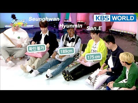 Aren't we the same height sitting down? [Hello Counselor Sub : ENG,THA / 2018.04.09]