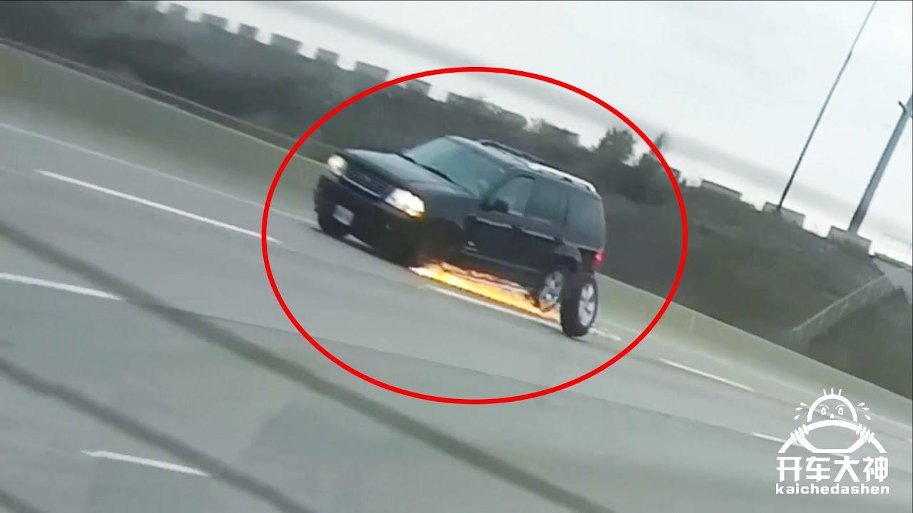 輪胎髮射倒計時,火花噴濺跑不直【開車大神】