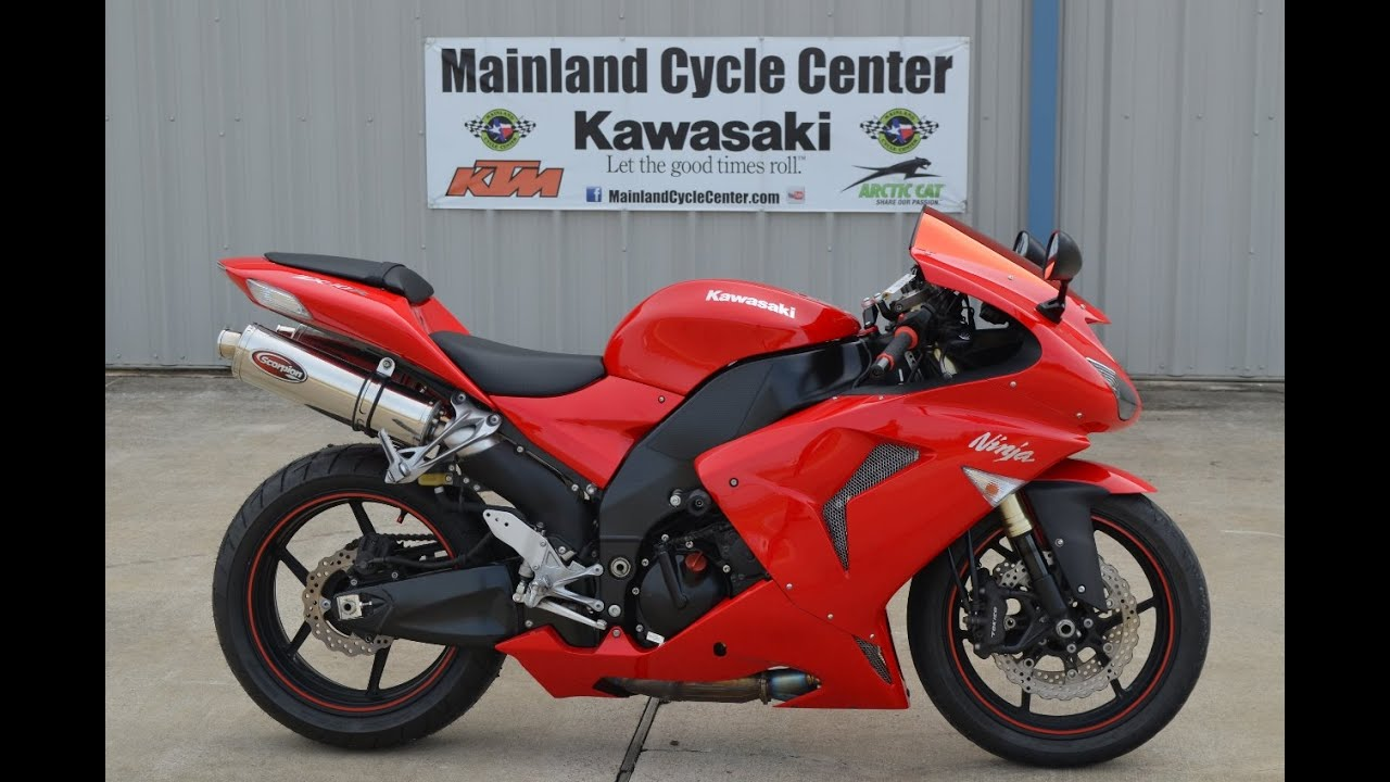 $5899: For Sale 2007 ZX10R Ninja Red