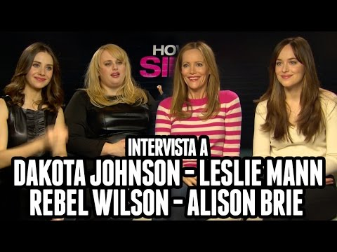 SINGLE MA NON TROPPO | Dakota Johnson, Rebel Wilson, Alison Brie, Leslie Mann intervistate