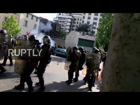 France: Protesters hammer police with Molotov cocktails amid clashes in Paris