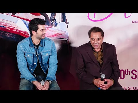 dharmendra-teases-grandson-karan-deol-at-upcoming-movie's-trailer-launch