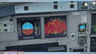 FSX Aerosoft Airbus A318 A319 A320 A321 Wetterradar weather radar Tutorial deutsch