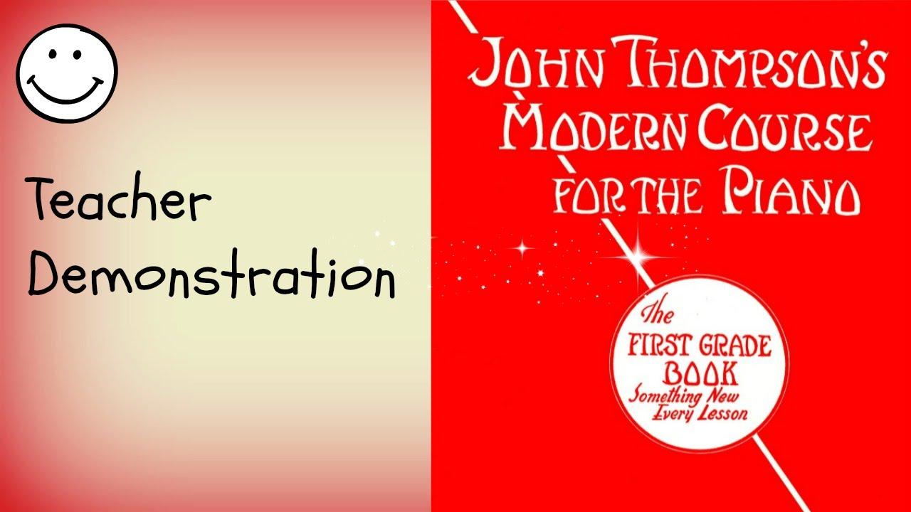 The man in the moon john thompsons modern course for the piano the man in the moon john thompsons modern course for the piano the first grade book grade 1 hexwebz Choice Image
