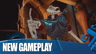 MediEvil on PS4! Exclusive New Gameplay - Scarecrow Fields