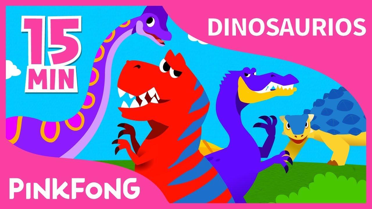 Las Mejores Canciones de 2ª Temporada de Dinosaurios   +Recopilación   Pinkfong Canciones Infantiles