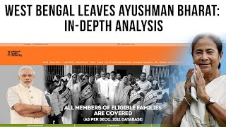 West Bengal quits Ayushman Bharat scheme, 60 lakh BPL families of WB to suffer, Current Affairs 2019