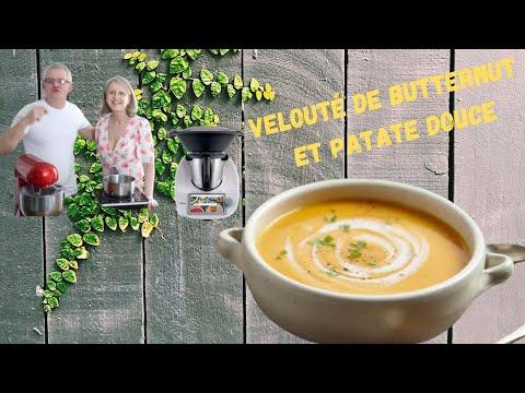 velouté-de-butternut-et-patate-douce-,-piments-rouge-,-et-coriandre.-thermomix-tm6
