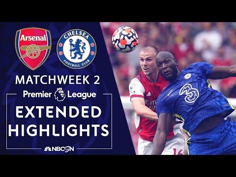 Arsenal v. Chelsea | PREMIER LEAGUE HIGHLIGHTS | 8/22/2021 | NBC Sports