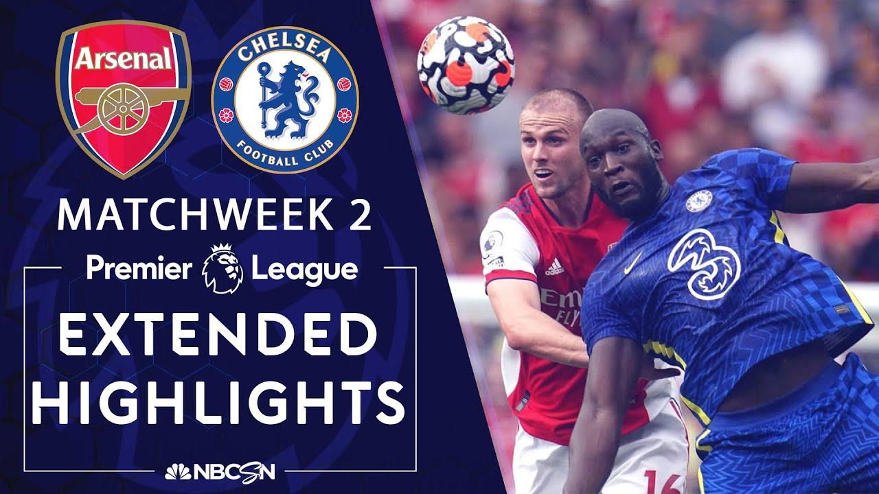 Download Arsenal v. Chelsea   PREMIER LEAGUE HIGHLIGHTS   8/22/2021   NBC Sports