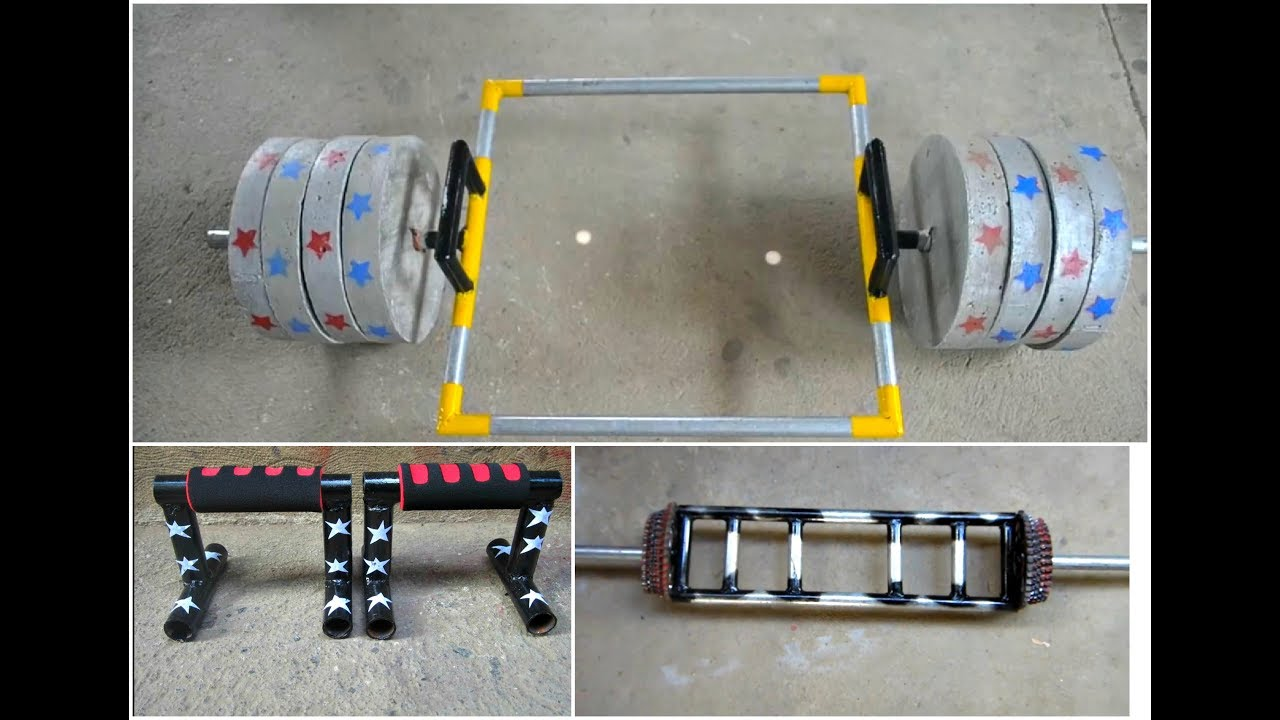 Best homemade gym equipment gym ideas youtube